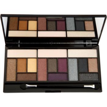 Fotografie Makeup Revolution London - Pro Looks Big Love Palette 13g Oční stíny W 15 očních stínů