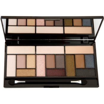 Makeup Revolution Pro Looks Stripped & Bare paleta senčil za oči