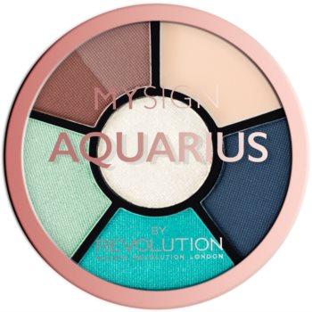 Makeup Revolution My Sign paletă pentru ochi