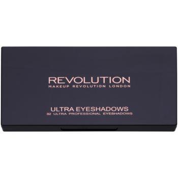 Makeup Revolution Flawless Matte 2 paleta senčil za oči z ogledalom 1