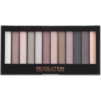Makeup Revolution Romantic Smoked paleta farduri de ochi