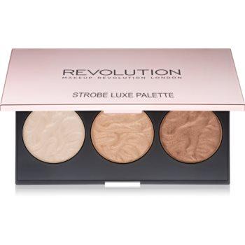 Makeup Revolution Strobe Luxe paleta luminoasa
