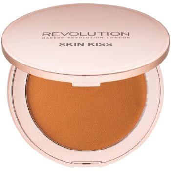 Fotografie Makeup Revolution Skin Kiss krémový bronzer odstín Bronze Kiss 11,5 g