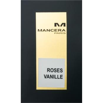 Mancera Roses Vanille eau de parfum pentru femei
