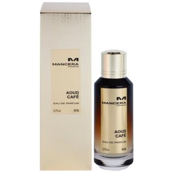 Mancera Aoud Café eau de parfum unisex 60 ml
