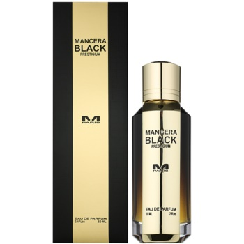 Mancera Intense Black Black Prestigium eau de parfum unisex 60 ml