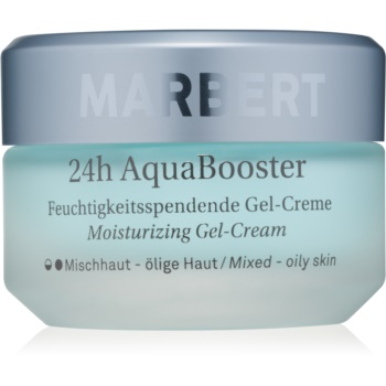 Marbert Moisture Care 24h AquaBooster gel crema hidratant pentru ten mixt si gras