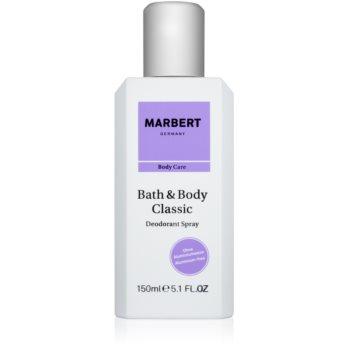 Marbert Bath & Body Classic deospray pentru femei
