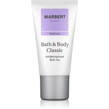 Marbert Bath & Body Classic deodorant roll-on pentru femei 50 ml