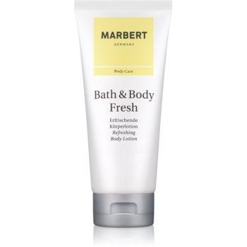 Marbert Bath & Body Fresh lapte de corp pentru femei 200 ml