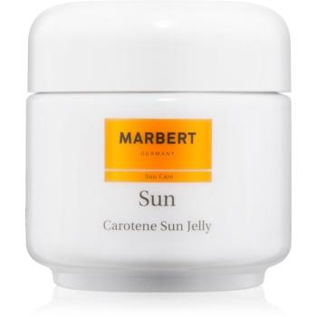 Fotografie Marbert Sun Carotene Sun Jelly bronzující gel na obličej a tělo SPF 6 100 ml