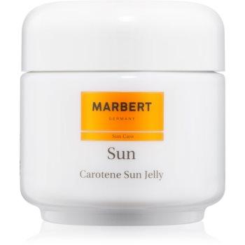 Marbert Sun Carotene Sun Jelly gel bronzare pentru față și corp SPF 6  100 ml