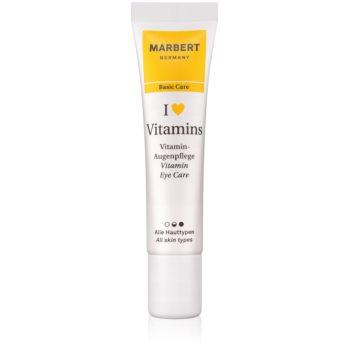 Marbert Basic Care I ♥ Vitamins ingrijire pentru ochi
