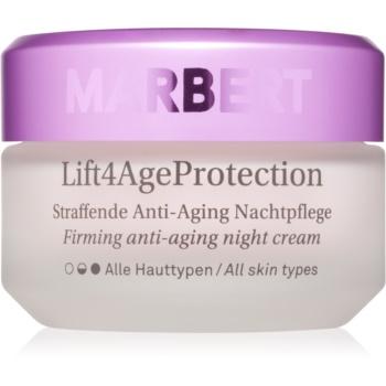 Fotografie Marbert Anti-Aging Care Lift4AgeProtection zpevňující noční krém proti vráskám 50 ml