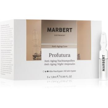 Marbert Anti-Aging Care Profutura fiolă de noapte impotriva imbatranirii pielii