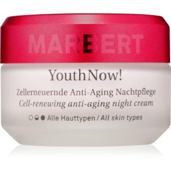 Marbert Anti-Aging Care YouthNow! cremă de noapte antirid pentru regenerarea celulelor pielii