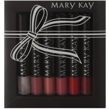 Mary Kay Lips paleta cu diferite nuante de luciu de buze 1
