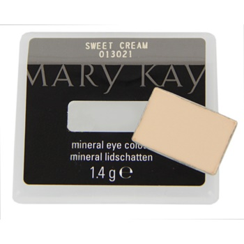 Fotografie Mary Kay Mineral Eye Colour oční stíny odstín Sweet Cream 1,4 g