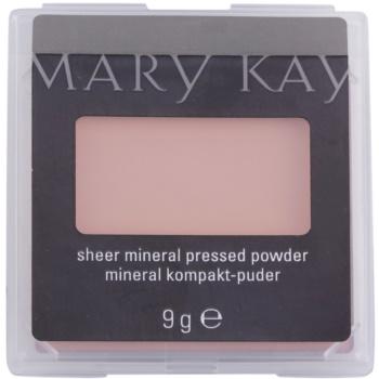 Fotografie Mary Kay Sheer Mineral pudr odstín 1 Beige 9 g