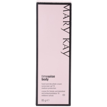 Mary Kay TimeWise Body Schutzcreme gegen Pigmentflecken 3