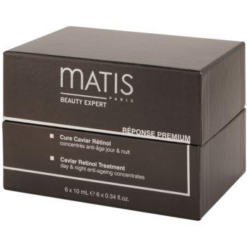MATIS Paris Réponse Premium intenzivni negovalni koncentrat z retinolom iz kaviarja proti gubam 4