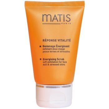 Fotografie MATIS Paris Réponse Vitalité čisticí peeling pro všechny typy pleti Energising Scrub Peealing 50 ml