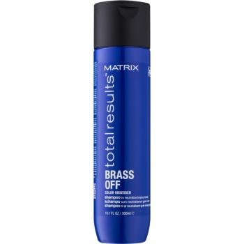 Matrix Total Results Brass Off šampon neutralizující mosazné podtóny 300 ml