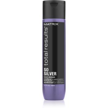 Matrix Total Results So Silver balsam neutralizeaza tonurile de galben imagine
