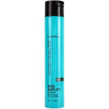 Fotografie Matrix Total Results High Amplify lak na vlasy pro flexibilní zpevnění 400 ml