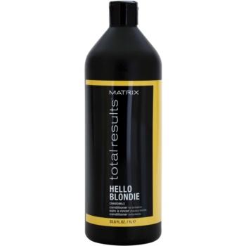 Matrix Total Results Hello Blondie balsam protector pentru par blond  1000 ml