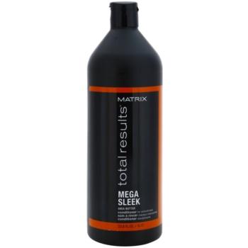 Matrix Total Results Mega Sleek kondicionér pro nepoddajné a krepatějící se vlasy 1000 ml