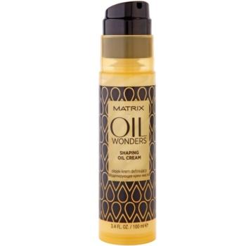 Matrix Oil Wonders Crema uleioasa pentru Sculpting 1