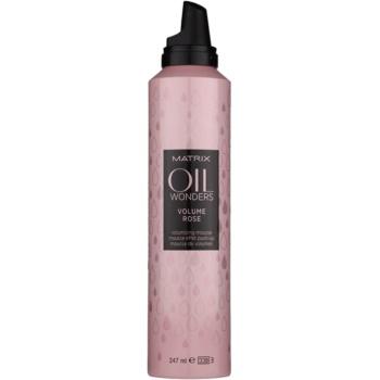 Matrix Oil Wonders Volume Rose pianka do włosów do zwiększenia objętości 1