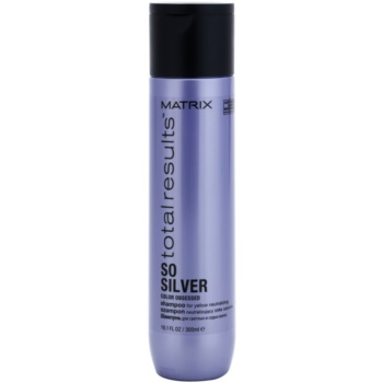 Matrix Total Results So Silver šampon pro ochranu barvy blond vlasů 300 ml
