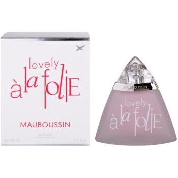 Fotografie Mauboussin Lovely A la Folie parfémovaná voda pro ženy 100 ml