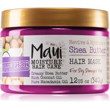 Maui Moisture Revive & Hydrate + Shea Butter masca hidratanta pentru păr uscat și deteriorat