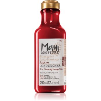 Maui Moisture Strength & Anti-Breakage + Agave balsam pentru indreptare pentru par degradat sau tratat chimic imagine