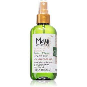 Maui Moisture Thicken & Restore + Bamboo Fibers tonic spray pentru par fin