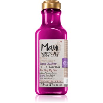 Maui Moisture Extra Hydrating + Shea Butter lotiune hidratanta intens pentru pielea extrem de uscata poza noua