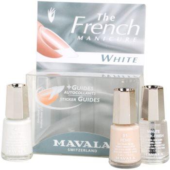 Mavala French Manicure White set za francosko manikuro 1