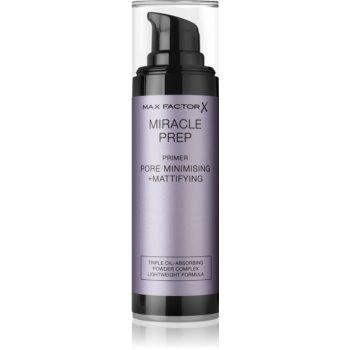 Max Factor Miracle Prep fond de ten lichid cu efect matifiant pentru netezirea pielii si inchiderea porilor poza noua