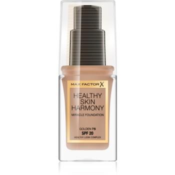 Max Factor Healthy Skin Harmony tekutý make-up SPF 20 odstín 75 Golden 30 ml