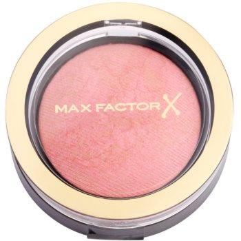 Fotografie Max Factor Creme Puff pudrová tvářenka odstín 05 Lovely Pink 1,5 g