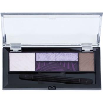 Fotografie Max Factor Smokey Eye Drama Kit 2v1 oční stíny a pudr na obočí 04 Luxe Lilacs 1,8 g