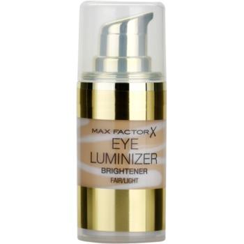 Fotografie Max Factor Eye Luminizer rozjasňovač na oční okolí odstín Fair/Light 15 ml