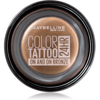 Maybelline Color Tattoo Lidschatten-Gel Farbton 35 On And On Bronze 4 g