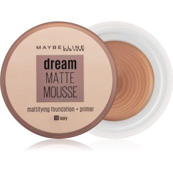 Maybelline Dream Matte Mousse machiaj cu efect matifiant imagine produs