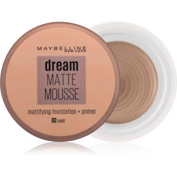 Maybelline Dream Matte Mousse machiaj cu efect matifiant poza noua