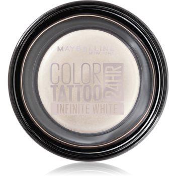 Maybelline Color Tattoo Lidschatten-Gel Farbton Infinite White 4 g