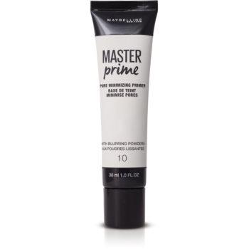 Maybelline Master Prime Primer pentru minimalizarea porilor poza noua